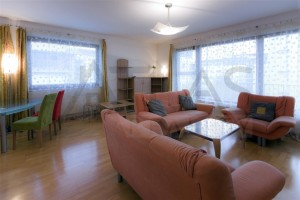 Nice living room - Two-bedroom Apartment 117 sqm Prague 6 - Vokovice development Cerveny Vrch, Nepalska street
