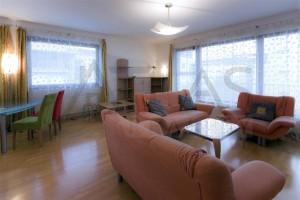 Nice living room - Two-bedroom Apartment 117 sqm Prague 6 - Vokovice development Cerveny Vrch, Nepalska street