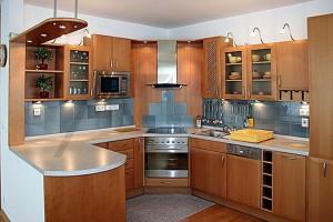 Kitchen - Two-bedroom Apartment 117 sqm Prague 6 - Vokovice development Cerveny Vrch, Nepalska street