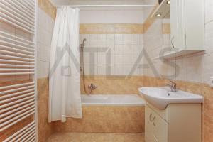koupelna s vanou Byt 3+kk na pronájem, 110 m2, Praha 2 - Vinohrady, Mánesova ul