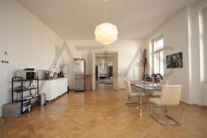 obývací pokoj Pronájem bytu 4+kk, 200 m2, Praha 2 -Vinohrady, Čelakovského sady