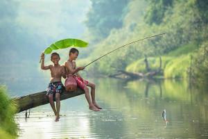 dětská zábava a radost + bezstarostná mladistvost mysli a srdce