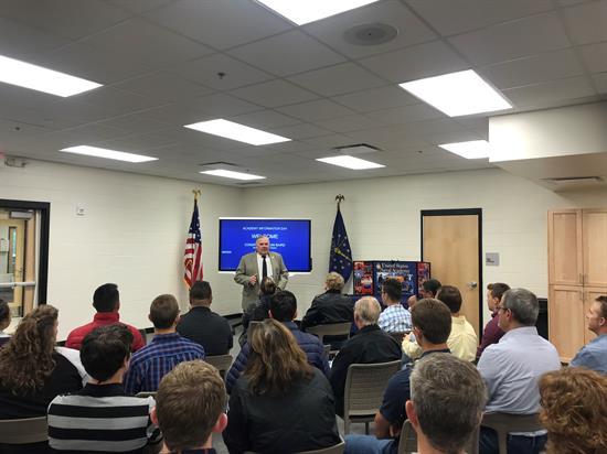 Kongresman Baird oznamuje Informační den servisní akademie