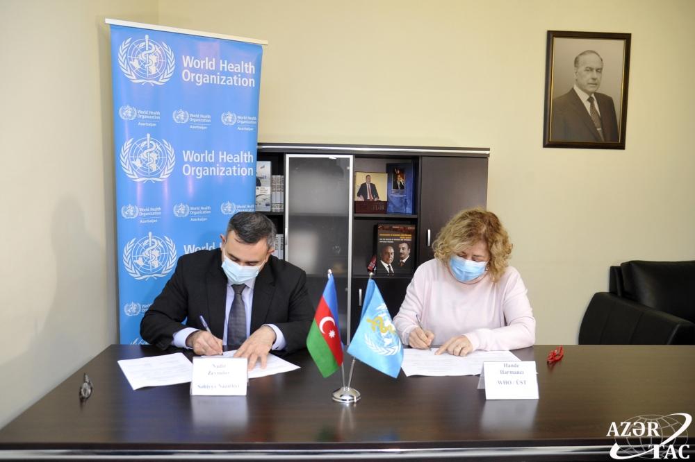 Evropská unie a WHO dodávají zdravotnický materiál do fronty COVID-19 v Ázerbájdžánu