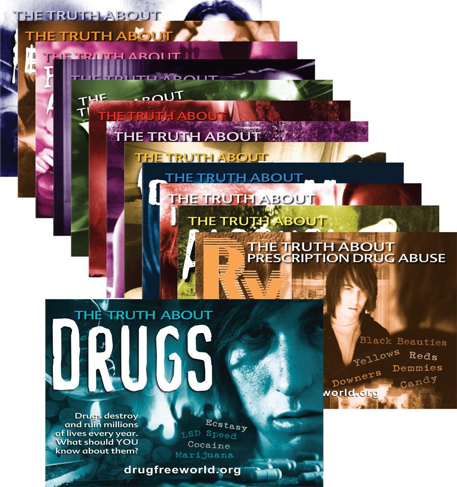 brožury o drogách v angličtině