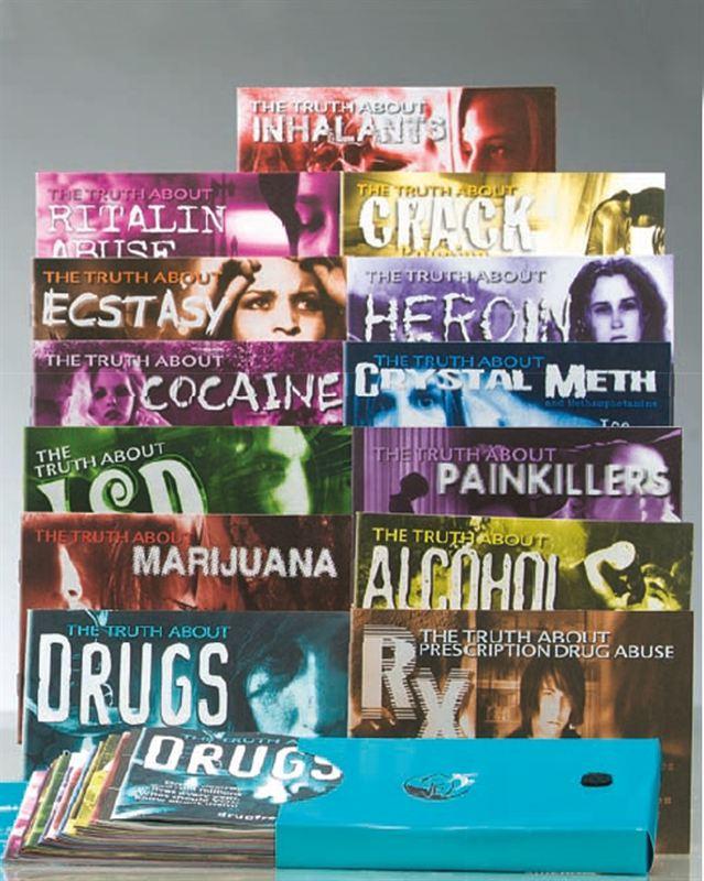 brožury Pravda o drogách v angličtině