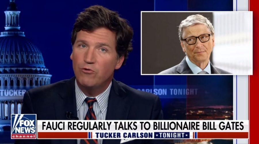 """Tucker Carlson z Fox News odhaluje """"Fauciho lži"""" na základě nově zveřejněných e-mailů"""
